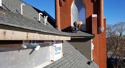 Martofel Construction Corp Church Roof Repair